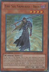 The Six Samurai - Irou - RYMP-EN093 - Ultra Rare - 1st Edition