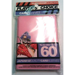 Player's Choice Yu-Gi-Oh Sleeves Pack of 60 in Pink