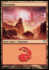 Mountain (300) - Foil on Channel Fireball