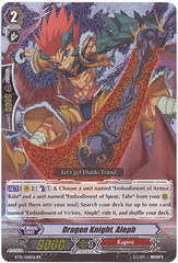 Dragon Knight, Aleph - BT01/014EN - RR on Channel Fireball