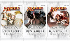 3x Avacyn Restored Booster Pack (draft set)