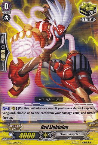 Red Lightning - BT02/074EN - C