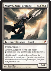 Avacyn, Angel of Hope - Foil on Channel Fireball