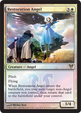 Restoration Angel (Avacyn Restored Release)