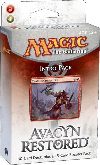 Avacyn Restored Intro Pack - Fiery Dawn