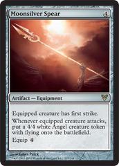 Moonsilver Spear - Foil on Channel Fireball