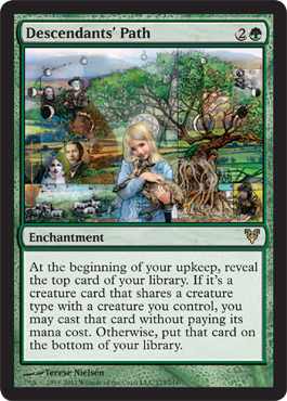 Descendants Path - Foil