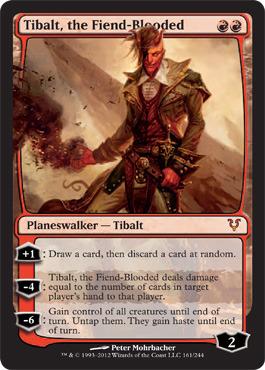 Tibalt, the Fiend-Blooded - Foil