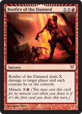 Bonfire of the Damned - Foil