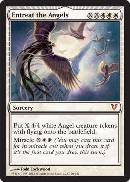 Entreat the Angels - Foil