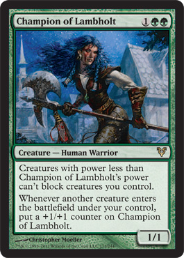 Champion of Lambholt - Foil