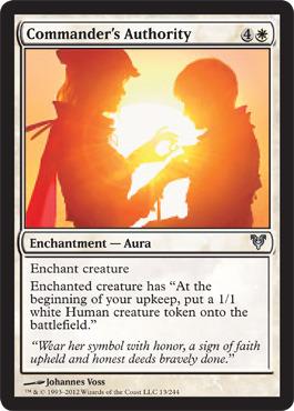 Commanders Authority - Foil