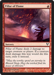 Pillar of Flame - Foil