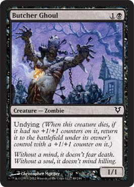 Butcher Ghoul - Foil