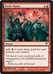 Battle Hymn - Foil on Channel Fireball