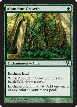 Abundant Growth - Foil