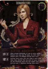 Resident Evil Deck Building Game: Alyssa Ashcroft Promo