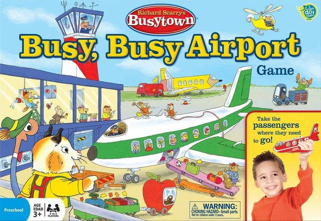 Richard Scarrys Busytown: Busy, Busy Airport Game