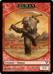 Human Token (Red) on Channel Fireball