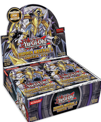 Yu-Gi-Oh Hidden Arsenal #6 Booster Box