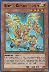 Hieratic Dragon of Gebeb - GAOV-EN019 - Super Rare - 1st Edition
