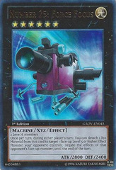 Number 25: Force Focus - GAOV-EN045 - Ultra Rare - 1st Edition