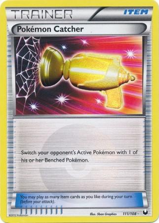 Pokemon Catcher - 111/108 - Secret Rare