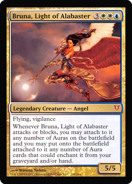 Bruna, Light of Alabaster (Oversized Helvault Foil)