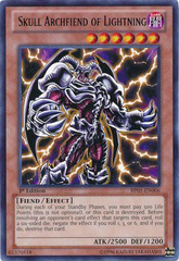 Skull Archfiend of Lightning - BP01-EN006 - Rare - 1st Edition
