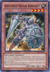 Ancient Gear Knight - BP01-EN146 - Common - 1st Edition on Channel Fireball