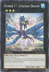 Number 17: Leviathan Dragon - BP01-EN027 - Starfoil Rare - 1st Edition