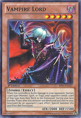 Vampire Lord - BP01-EN127 - Starfoil Rare - 1st Edition