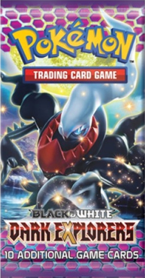 Pokemon Black & White BW5 Dark Explorers Booster Pack