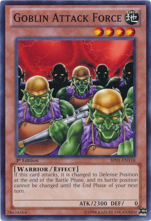 Goblin Attack Force - BP01-EN118 - Common - 1st Edition