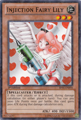Injection Fairy Lily - BP01-EN004 - Starfoil Rare - 1st Edition