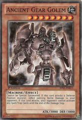 Ancient Gear Golem - BP01-EN011 - Starfoil Rare - 1st Edition on Channel Fireball