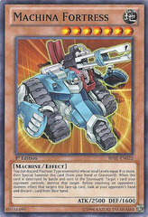 Machina Fortress - BP01-EN022 - Starfoil Rare - 1st Edition