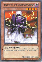 Dekoichi the Battlechanted Locomotive - BP01-EN189 - Starfoil Rare - 1st Edition