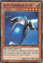 Blue Thunder T-45 - BP01-EN198 - Starfoil Rare - 1st Edition