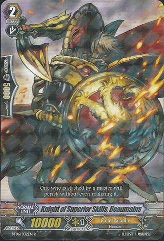 Knight of Superior Skills, Beaumains - BT06/032EN - R