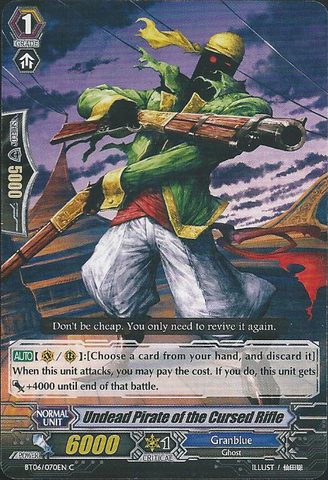 Undead Pirate of the Cursed Rifle - BT06/070EN - C