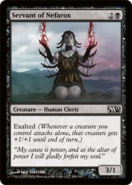 Servant of Nefarox - Foil