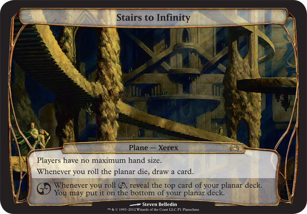 Stairs to Infinity (Planechase 2012 Release - Oversized)