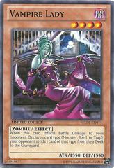 Vampire Lady - GLD5-EN014 - Common - Limited Edition