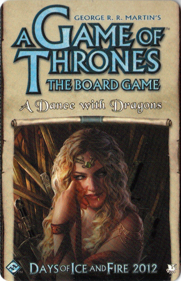 Game of Thrones (2E) Dance with Dragons