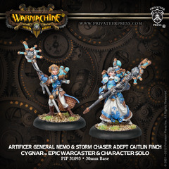 Artificer General Nemo & Storm Chaser Adept Caitlin Finch - pip31093