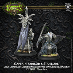 Captain Farilor & Standard Blighted Nyss Legionnaire Unit Attachment PIP 73063