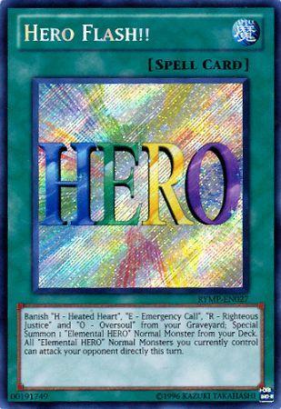 Hero Flash!! - RYMP-EN027 - Secret Rare - Unlimited Edition