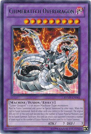 Chimeratech Overdragon - RYMP-EN061 - Rare - Unlimited Edition