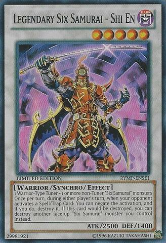Legendary Six Samurai - Shi En - RYMP-ENSE1 - Super Rare - Limited Edition
